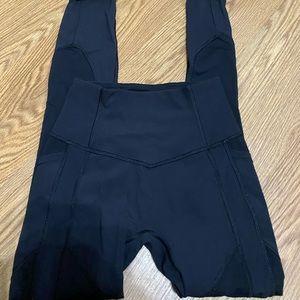 Lululemon black all the right places leggings